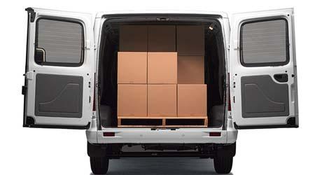 V80 Van Loads of space
