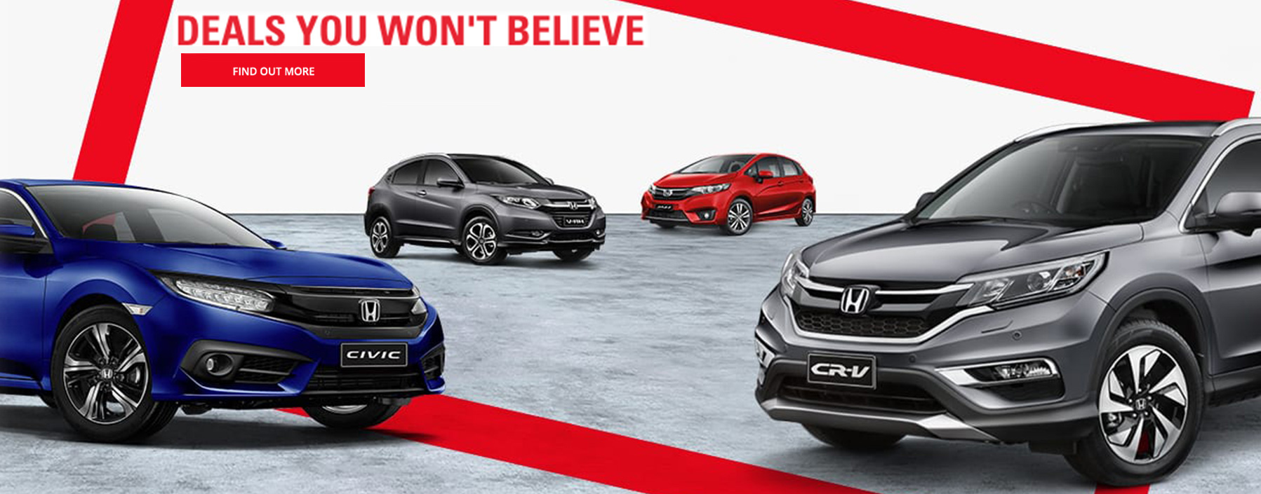Deals you won't believe on all 2016 Build Honda's at Northside Honda Brisbane.