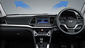 Elantra Auto windscreen defog