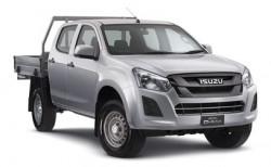 New Isuzu UTE 4x4 SX Crew Cab Chassis