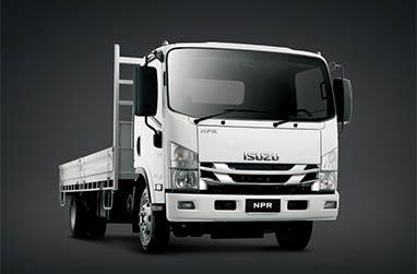 N Series 4,500-7,500kg GVM wide cab range