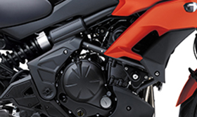 2016 Versys 650L ABS Compact Parallel-Twin Engine Tuned for Low-Mid Range Torque