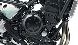 2017 Ninja 650L KRT Edition Parallel-Twin Engine Tuned for Low-Mid Range Power and Torque