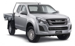 New Isuzu UTE 4x4 SX Space Cab Chassis