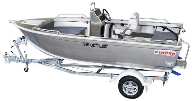 New Stacer 449 Outlaw Centre Console
