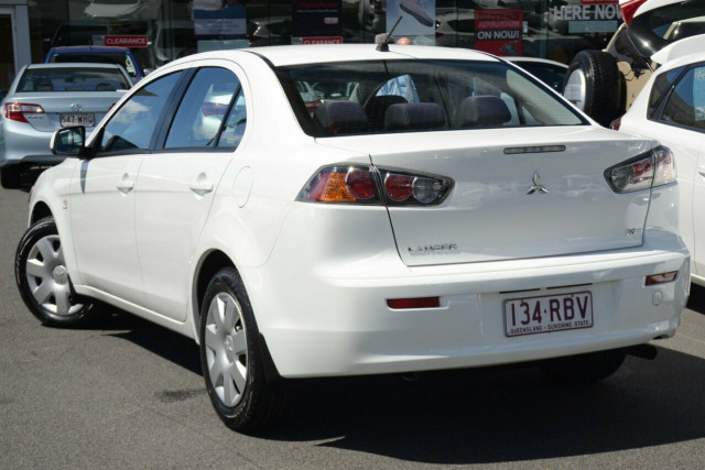 2010 mitsubishi lancer cj my10 es sedan for sale in brisbane southside toyota. Black Bedroom Furniture Sets. Home Design Ideas