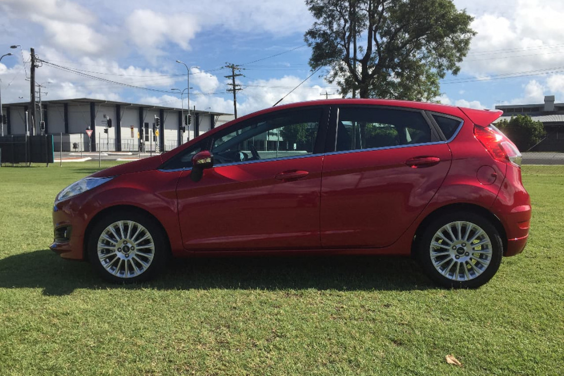 2017 MY15 Ford Fiesta WZ Sport Hatchback