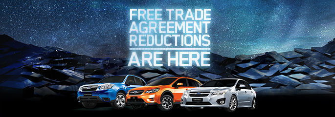 FREE TRADE REDUCTIONS ARE HERE