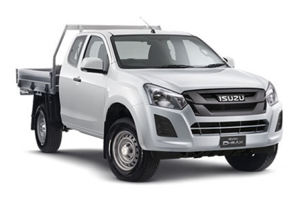 Isuzu Ute D-MAX 4x4 SX Space Cab Chassis