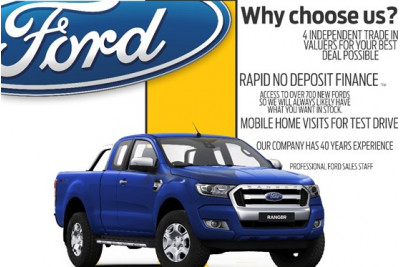 Ford Ranger 4x4 XL Single Cab Chassis 2.2L PX MkII