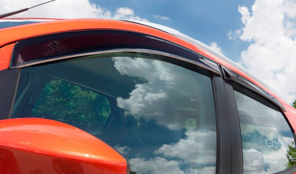 Weathershields - slimline front and rear