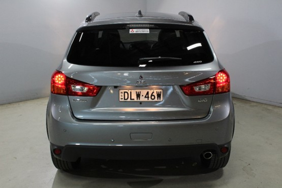 2016 MY17 Mitsubishi ASX XC XLS AWD Sedan