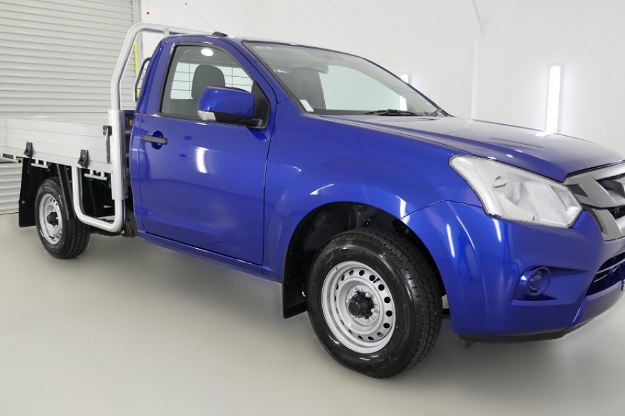 2018 MY17 Isuzu UTE D-MAX 4x2 SX Single Cab Chassis Low-Ride Single cab