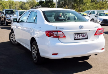 2012 MY Toyota Corolla ZRE152R  Ascent Sedan