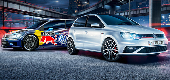 Polo Polo GTI. Inspired by rally.