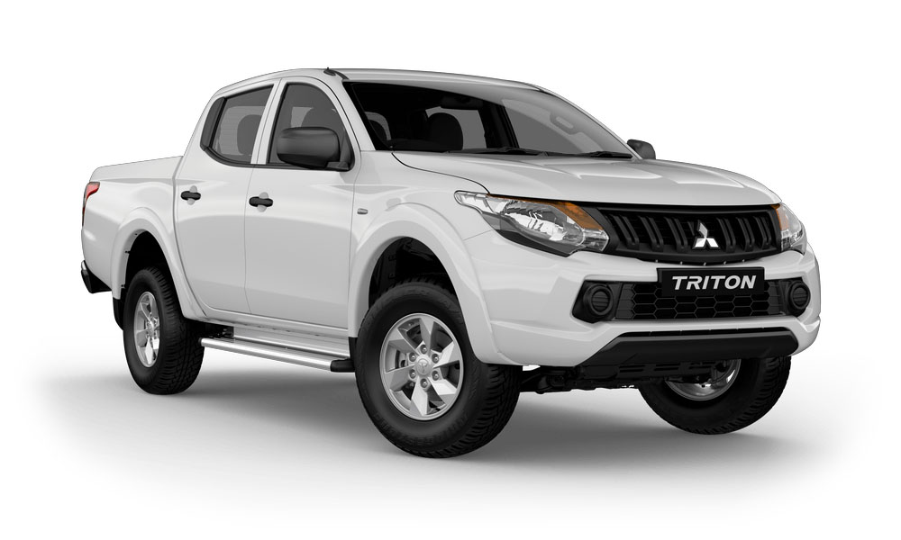 2017 MY18 Mitsubishi Triton MQ GLX Plus Double Cab Pick Up 4WD Utility