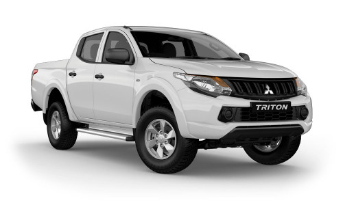 2017 MY18 Mitsubishi Triton MQ GLX Plus Double Cab Pick Up 4WD Dual cab