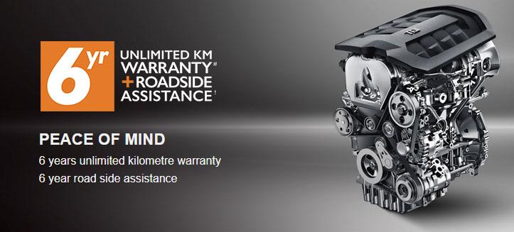6yr Unlimited KM Warranty