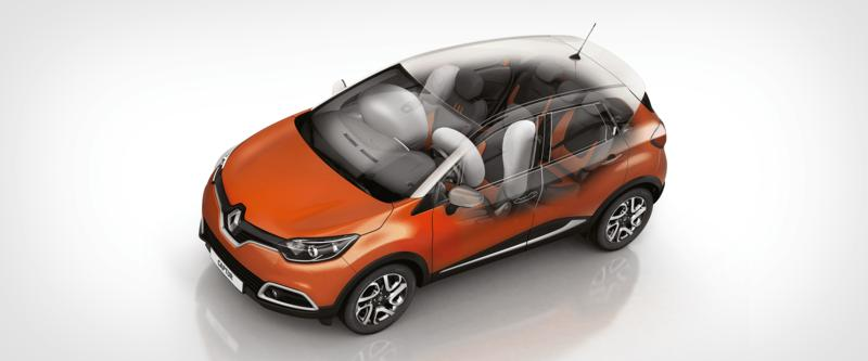 Captur 5-Star Safety