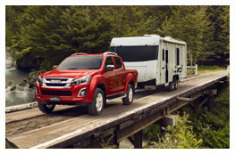 D-MAX 3.5 tonne towing