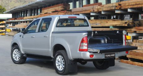 Tunland Dual Cab Cargo Space And Pulling Power