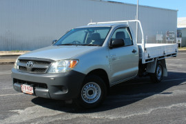 2007 Toyota HiLux TGN16R MY07 WORKMATE SINGLE CAB Cab chassis