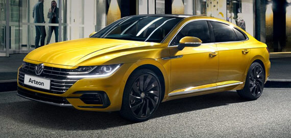 Arteon Fastback looks, sedan space.