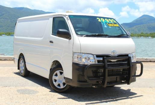 2012 Toyota Hiace KDH201R MY11 LONG WHEELBASE Van