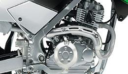2017 KLX140L 144cm3 Air-Cooled Engine