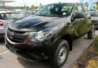 Mazda BT-50 4x4 3.2L Freestyle Cab Chassis XT UR0FY1