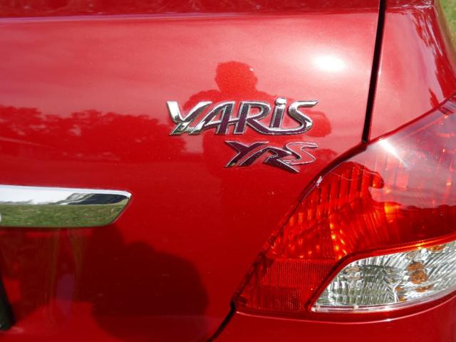 2008 MY09 Toyota Yaris NCP93R  YRS Sedan