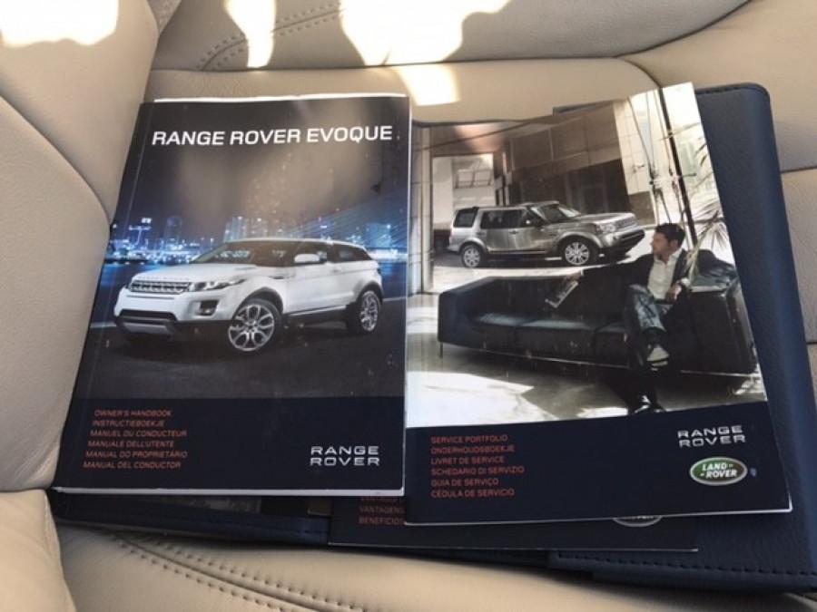 2012 MY13 Land Rover Range Rover Evoque L538  SD4 PURE Wagon
