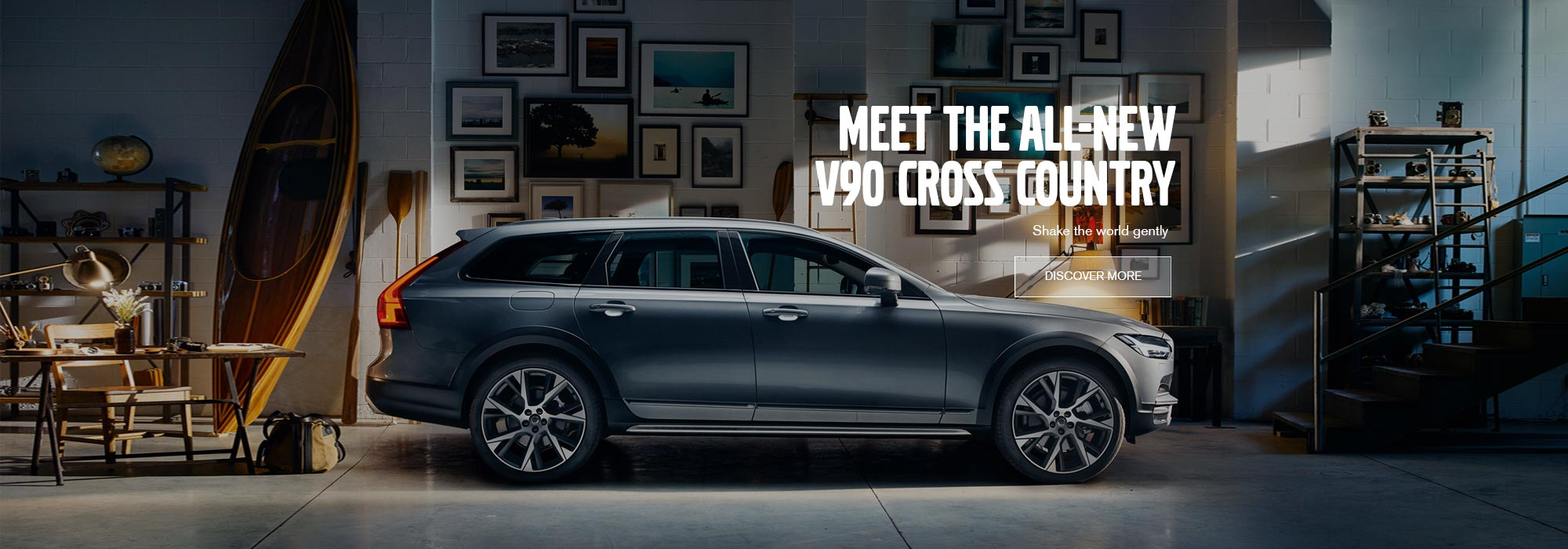 Meet the new V90 Cross Country
