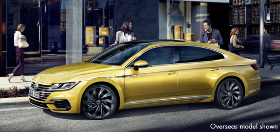 Arteon Eye-catching. From any angle.