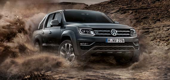 Amarok V6 Overboost. Power and then some.