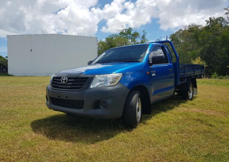 2014 Toyota HiLux TGN16R  Workmate Cab chassis - single cab