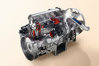 Axor High-torque 6-cylinder in-line engines with up to 326 hp