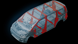 Delica D5 RISE - Reinforced Impact Safety Evolution