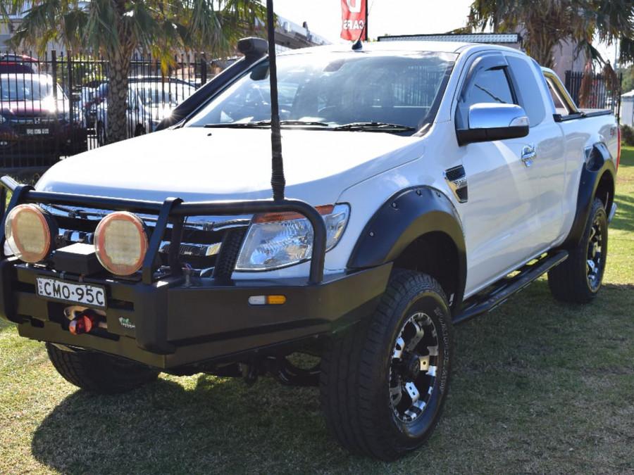 2012 Ford Ranger PX Turbo XLT Utility extende