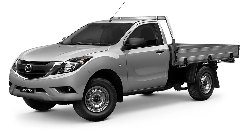 2017 Mazda BT-50 UR0YE1 4x2 2.2L Single Cab Chassis XT Cab chassis
