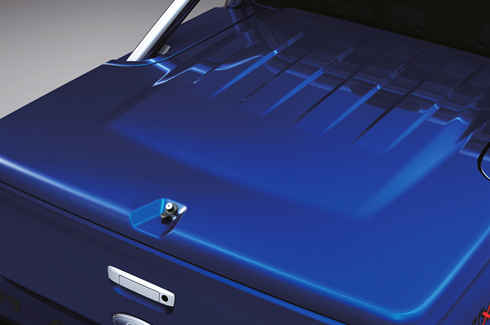 Tonneau Cover - Hard - 3 Piece FLA