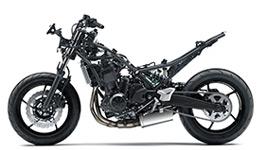 2017 Ninja 650L KRT Edition All-new Trellis Frame