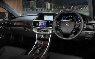Accord Sport Hybrid Interior Dash