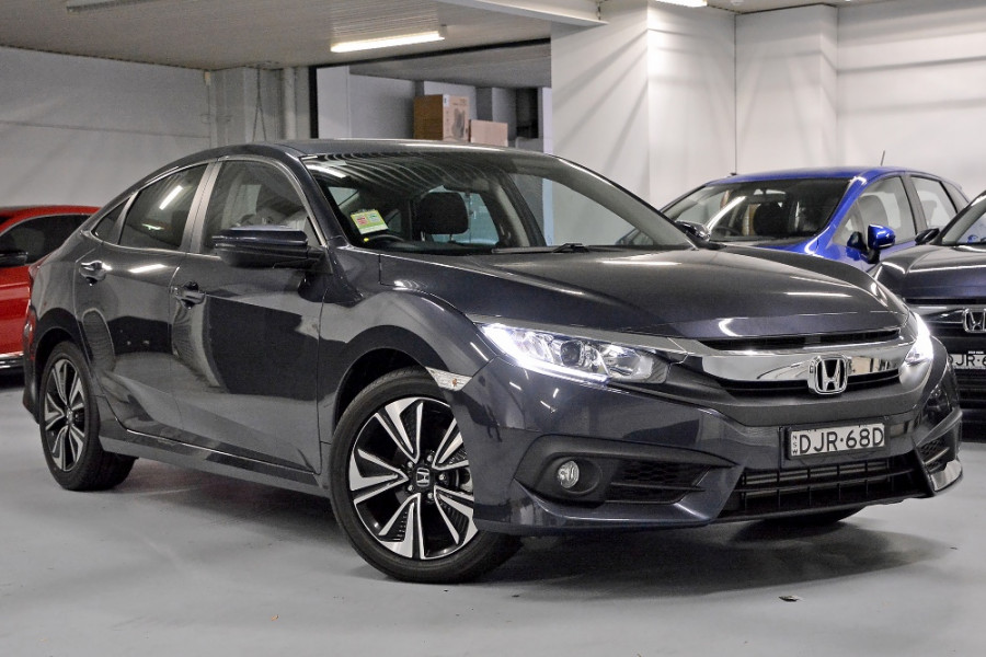 Mazda Dealers Sydney >> 2016 Honda Civic Sedan 10th Gen VTi-L Sedan for sale in Sydney - Autosports Honda