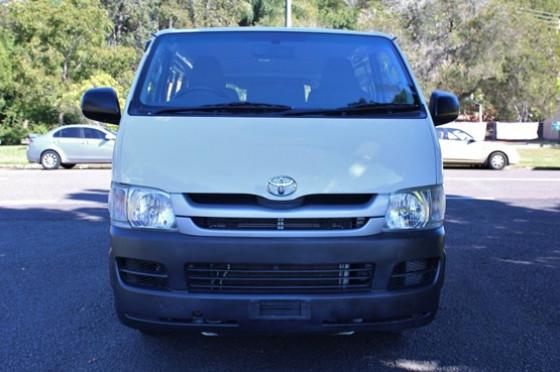2010 Toyota Hiace KDH201R  Van