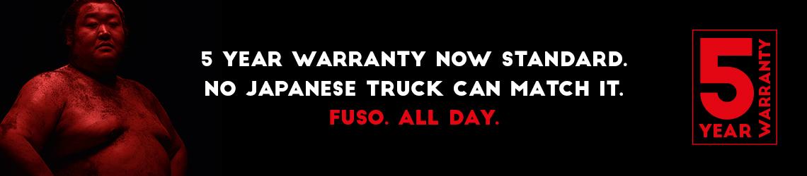 5 Year Warranty - Canter