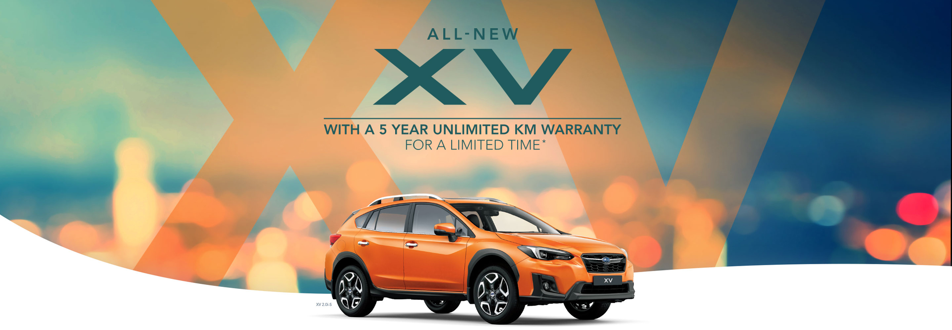 All-new Subaru XV - Pre-order now for June delivery