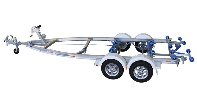 Trailers 1850kg Alloy Tandem Plate Series Multi-Roller Trailer