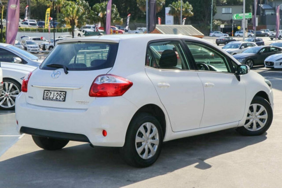 2011 MY Toyota Corolla ZRE152R MY11 Ascent Hatchback