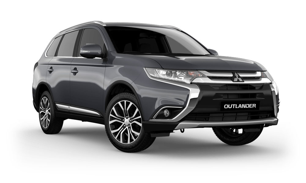 2017 Mitsubishi Outlander ZK LS Safety Pack AWD Diesel 7 Seat Wagon